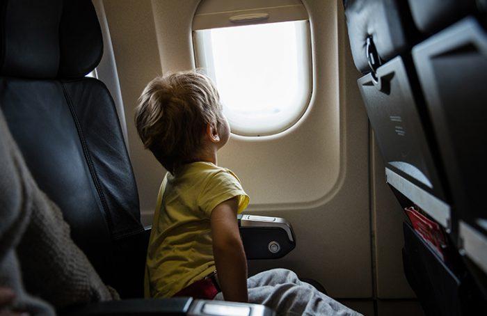 Kid in Airplane Jokes Times